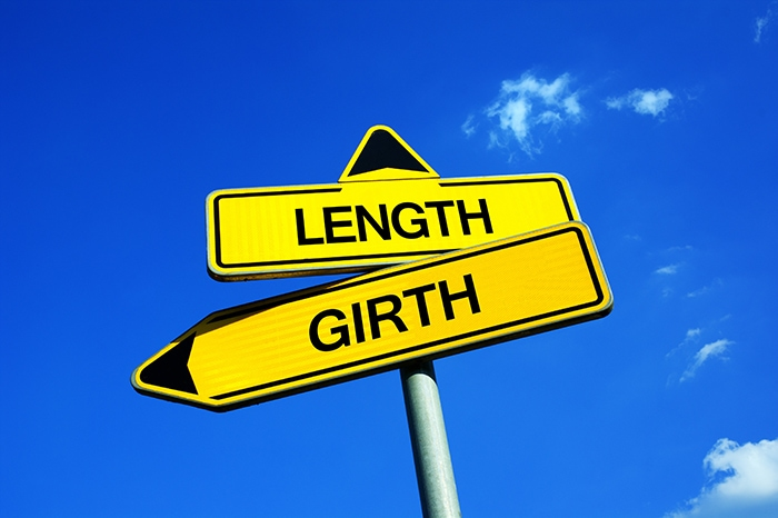 Average Girth Size - signposts