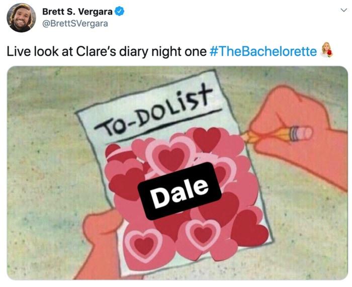 Bachelorette Memes - to do list