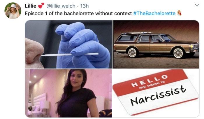 Bachelorette Memes - episode 1 no context