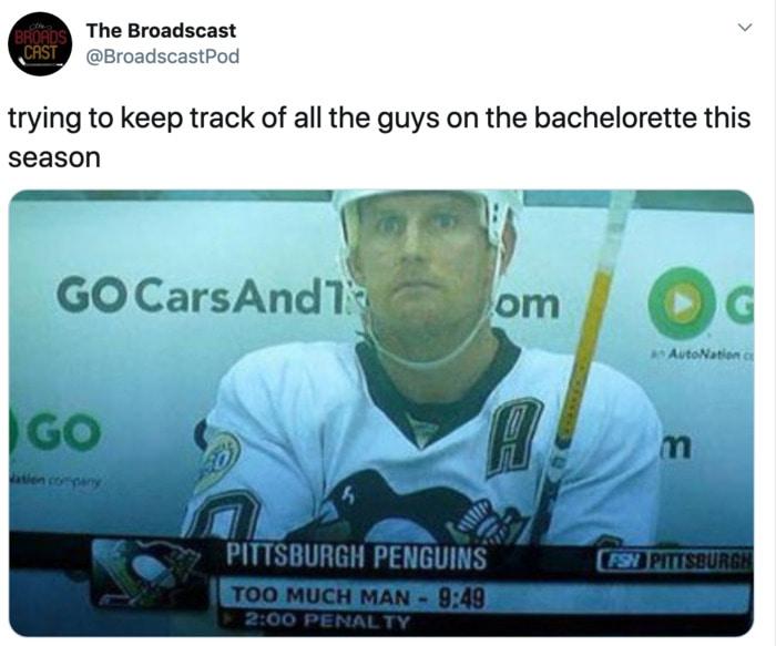 Bachelorette Memes - men
