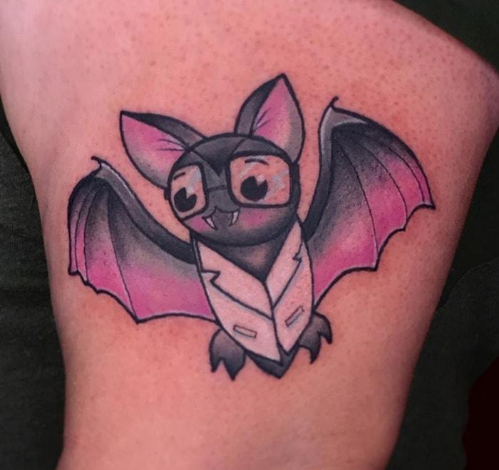 Bat Tattoos - Doctor