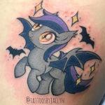Bat Tattoos - My Little Pony