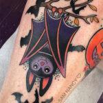Bat Tattoos - Cute Halloween
