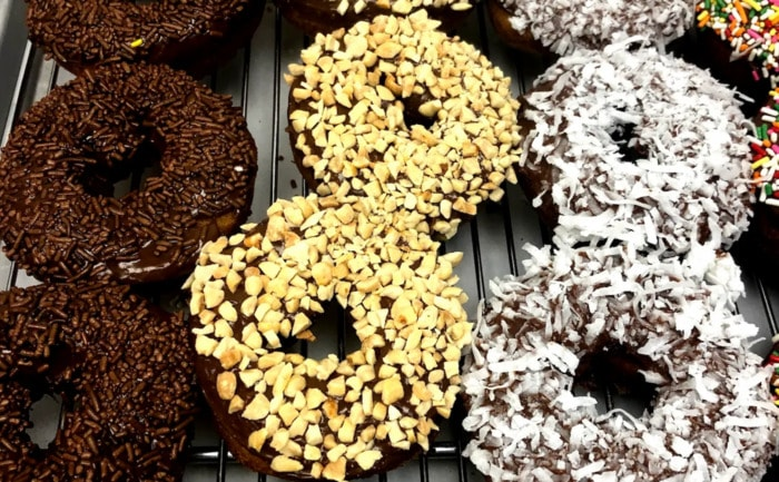 The Donut - Chocolate and Coconut