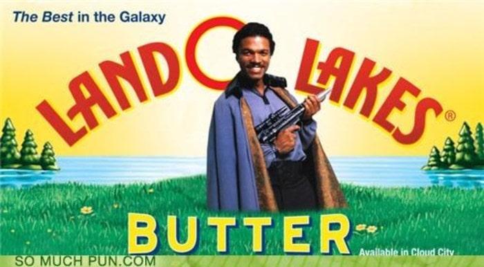 Butter puns - Land O Lakes Butter