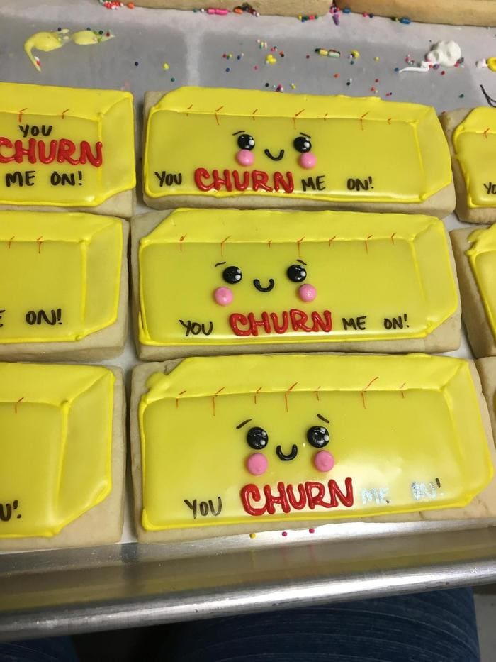 Butter puns - You churn me on