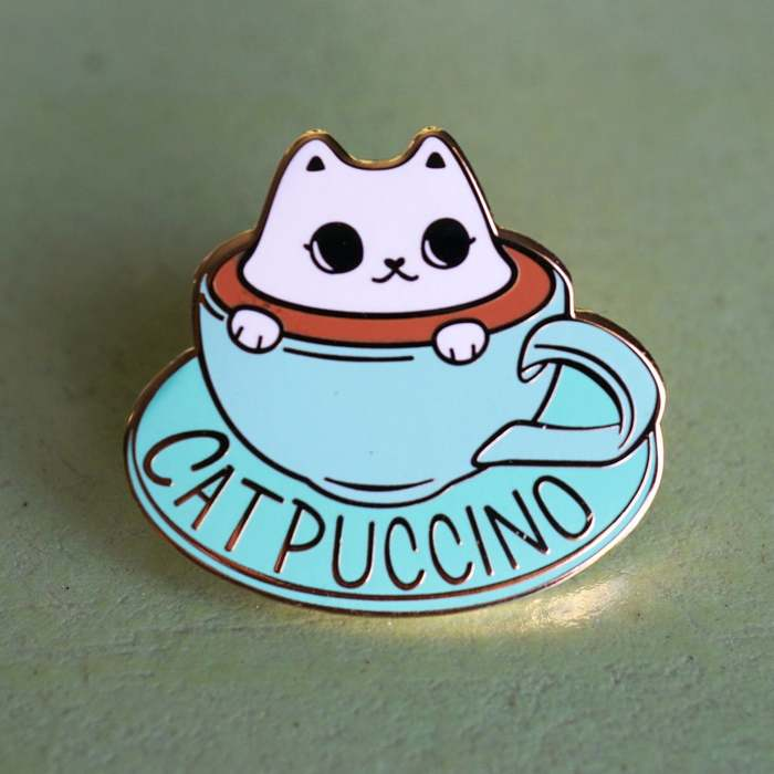 Coffee puns - Catpuccino