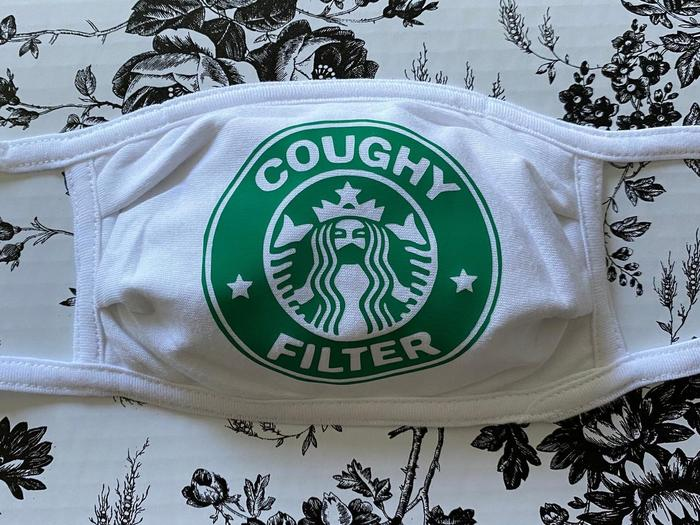 Coffee puns - Coughy filter mask