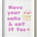 Dessert Puns - Cake