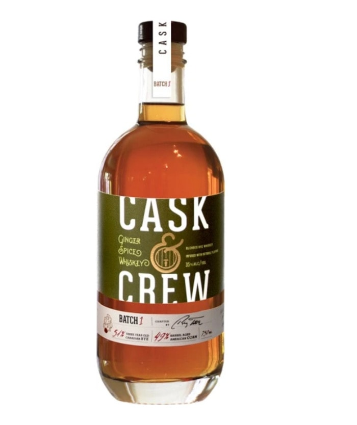 Flavored Whiskey - Cask and Crew Ginger