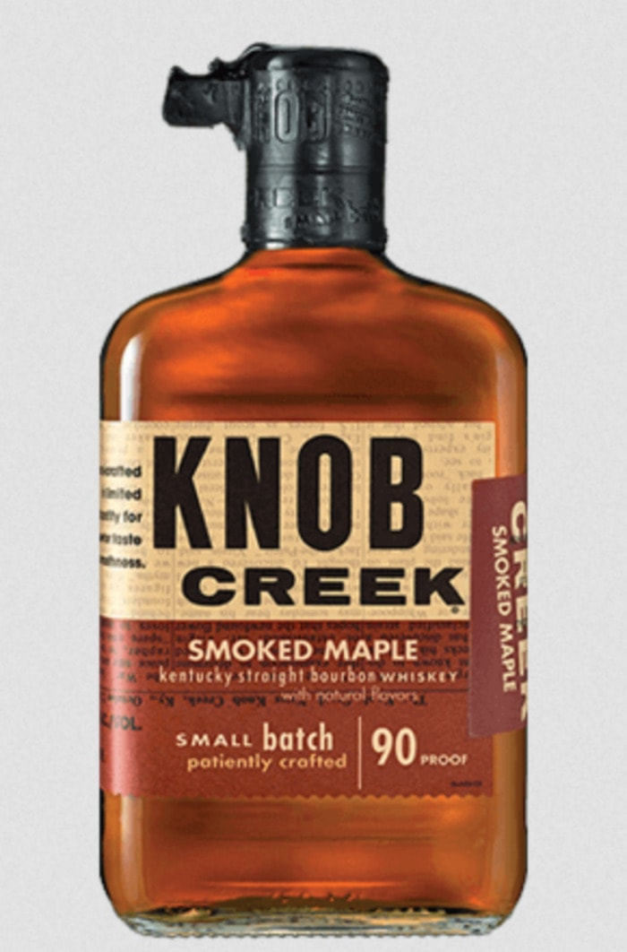Flavored Whiskey - Knob Creek Smoked Maple Bourbon