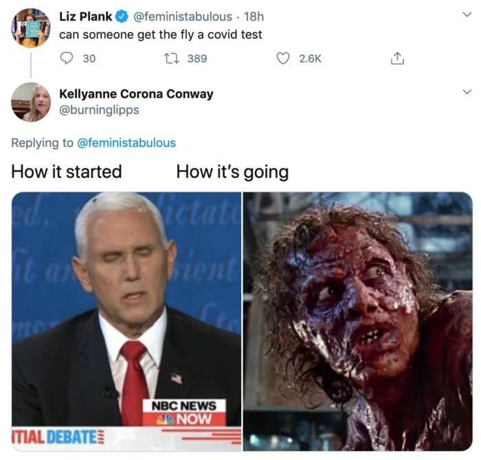 Fly Memes Mike Pence - how its going