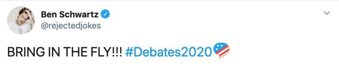 Debate Tweets - fly