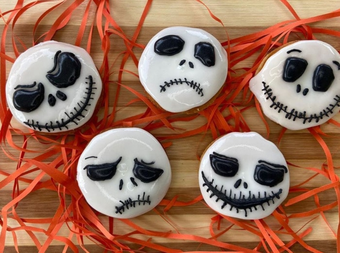 Halloween Donuts - Jack Skellington