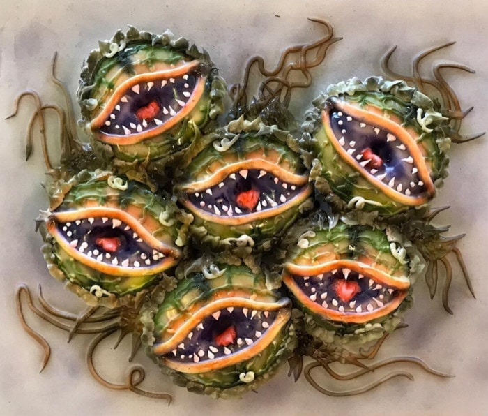 Halloween Donuts - Little Shop of Horrors