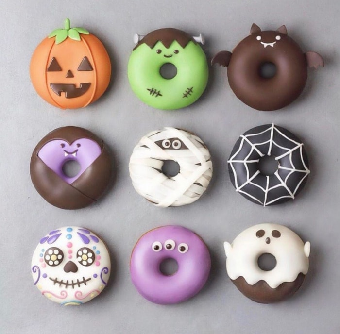 Halloween Donuts - Monsters