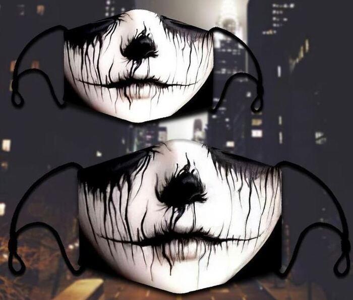 Halloween Face Masks - Witch masks