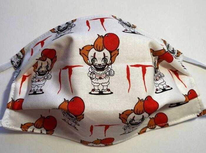 Halloween Face Masks - IT