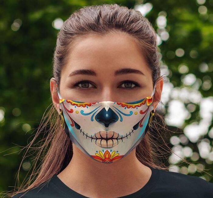 Halloween Face Masks - Mexican