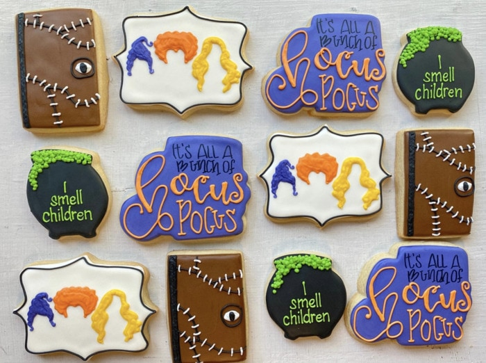 Hocus Pocus Desserts - Decorated Cookies