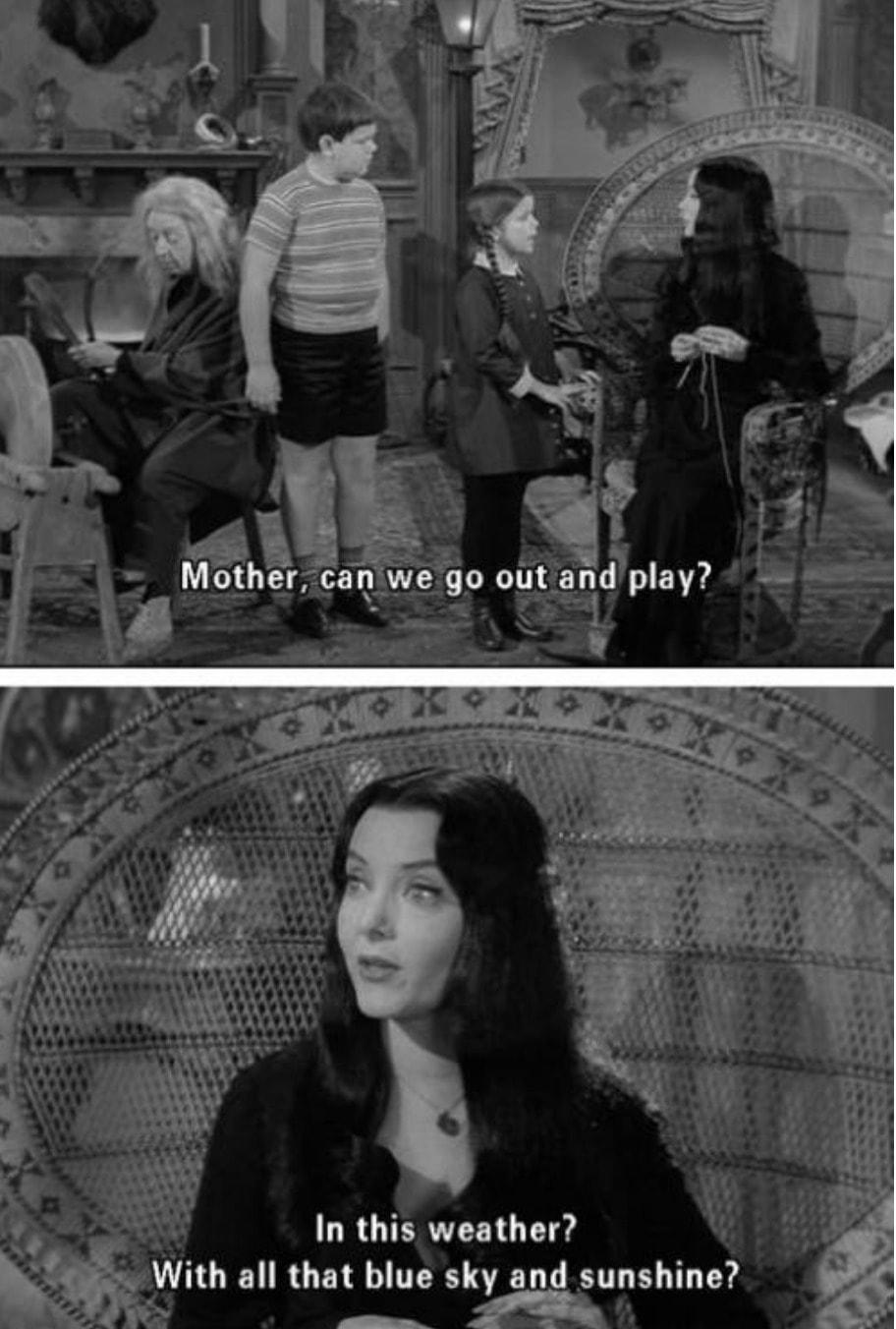 Addams quotes and morticia gomez The Addams