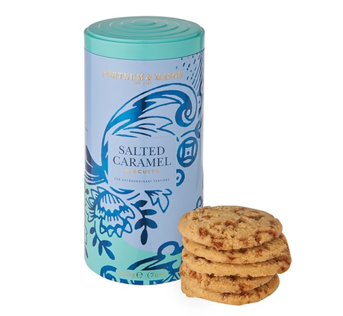 Mother's Day Gift Ideas Food - Fortnum Mason Salted Caramel Biscuits