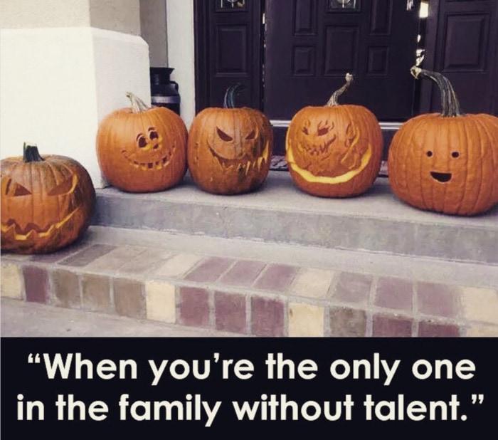 Pumpkin Memes - family carving contest