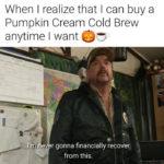 Pumpkin Memes - cold brew