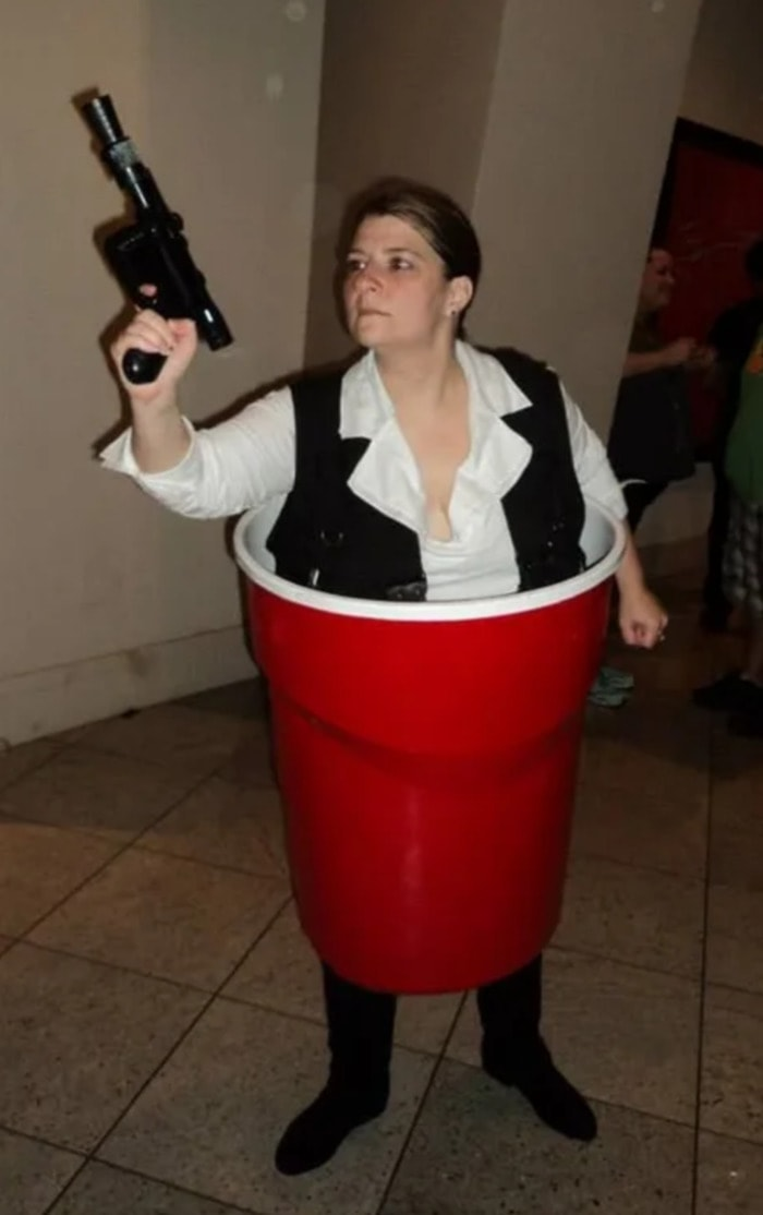 Punny Halloween Costumes - Han Solo Star Wars