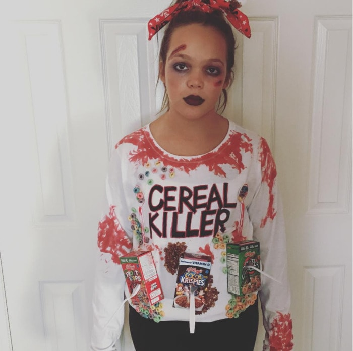 Punny Halloween Costumes - Cereal Killer