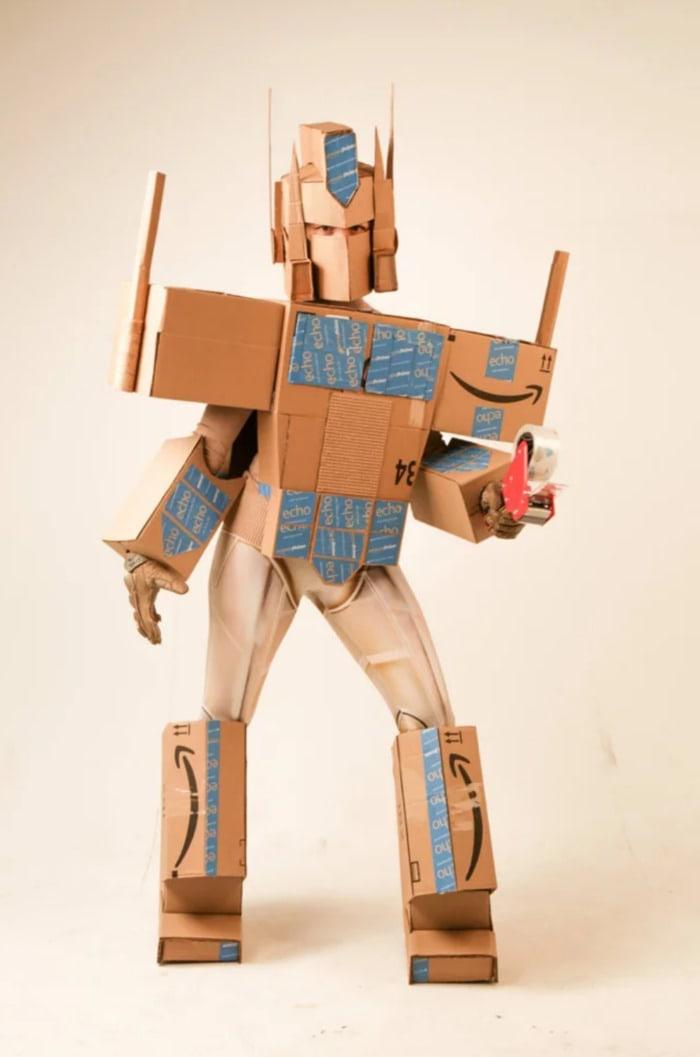 Punny Halloween Costumes - Optimus Prime