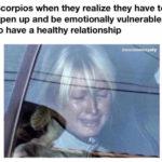 scorpio memes - healthy relationship