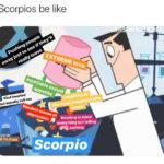 scorpio memes - professor x