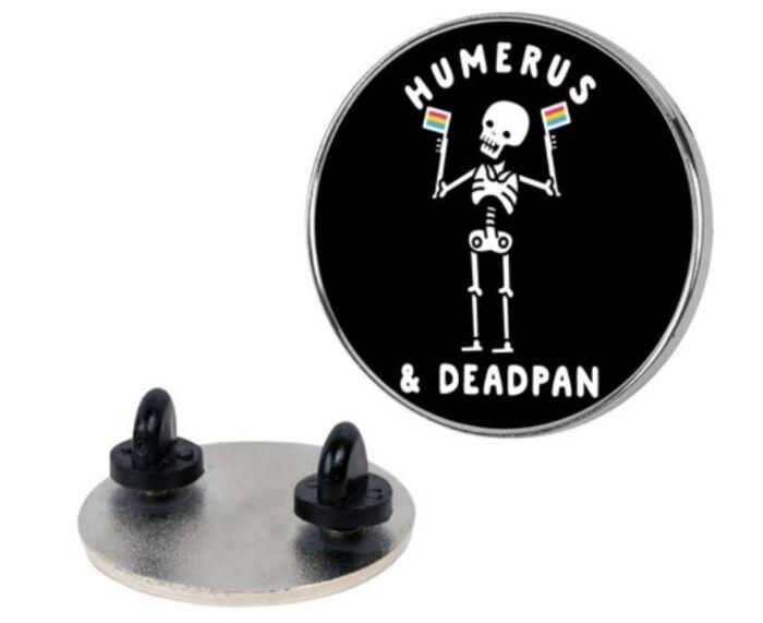 Skeleton Puns - Humerus & Deadpan