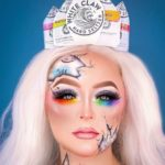 White Claw Halloween Costume - Makeup White Claw Hard Seltzer