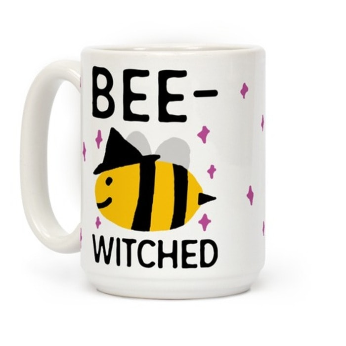 Witch puns - Bee Witched Bee mug