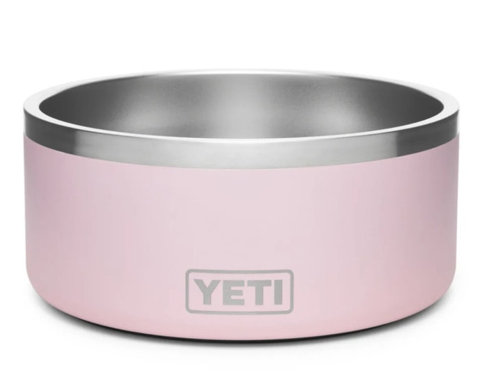 Yeti Ice Pink Collection - Boomer Dog Bowl