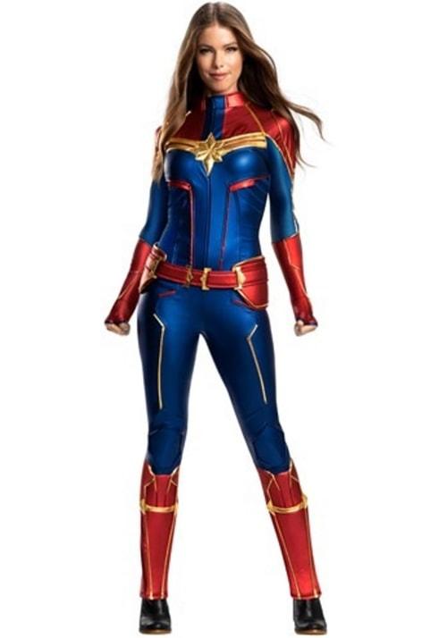 Female Superhero Costume Ideas - Captain Marvel