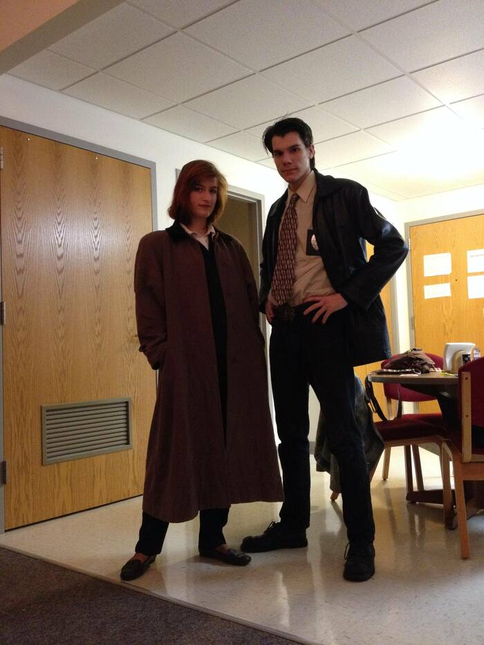 funny couples costumes - X files