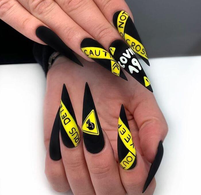 2020 Nails - Covid nails
