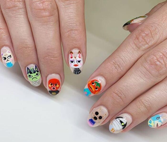 2020 Nails - Animal Crossing Nails