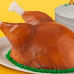 Baskin Robbins Turkey Cake