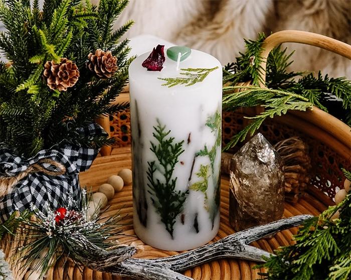 Cheap Gift Ideas - Cedar Candle