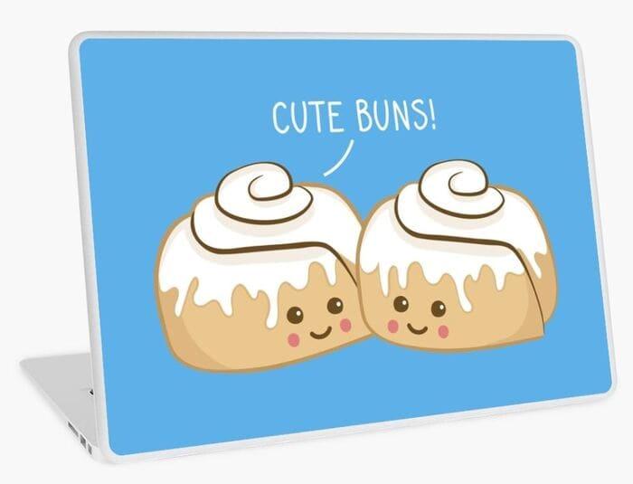 Dessert Puns - Cute buns