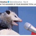 Four Seasons Total Landscaping Tweets - Opossum