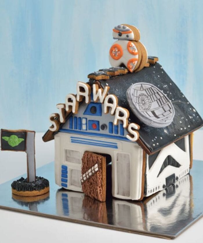 Funny Gingerbread House Ideas - Star Wars Theme