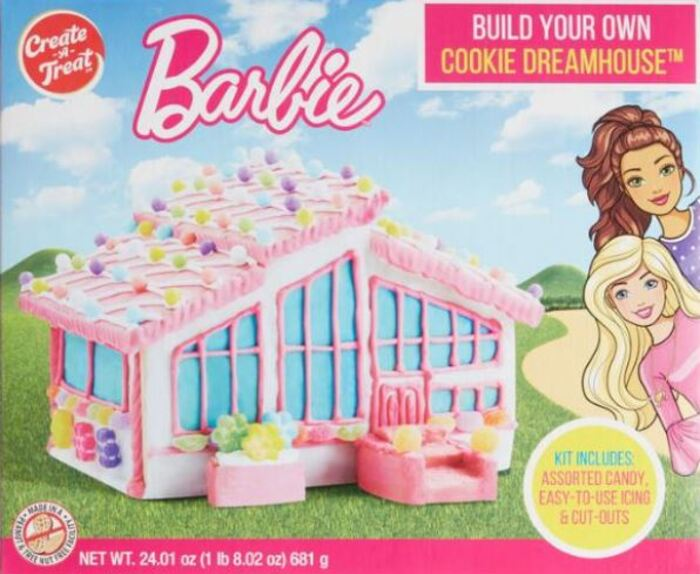 Funny Gingerbread House Ideas - Barbie Dream House