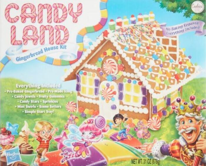 Funny Gingerbread House Ideas - Candy Land