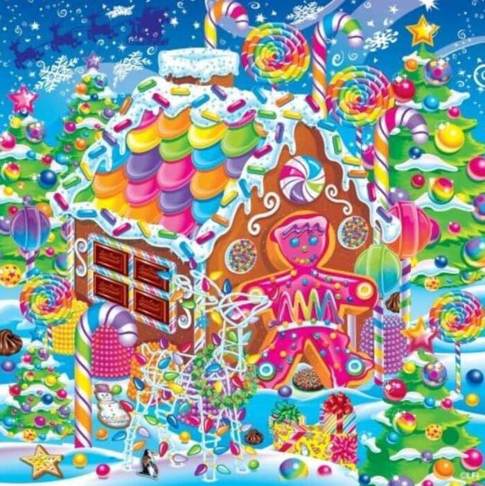 Funny Gingerbread House Ideas - Lisa Frank
