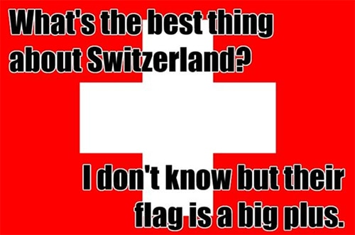 Funny Puns - Switzerland